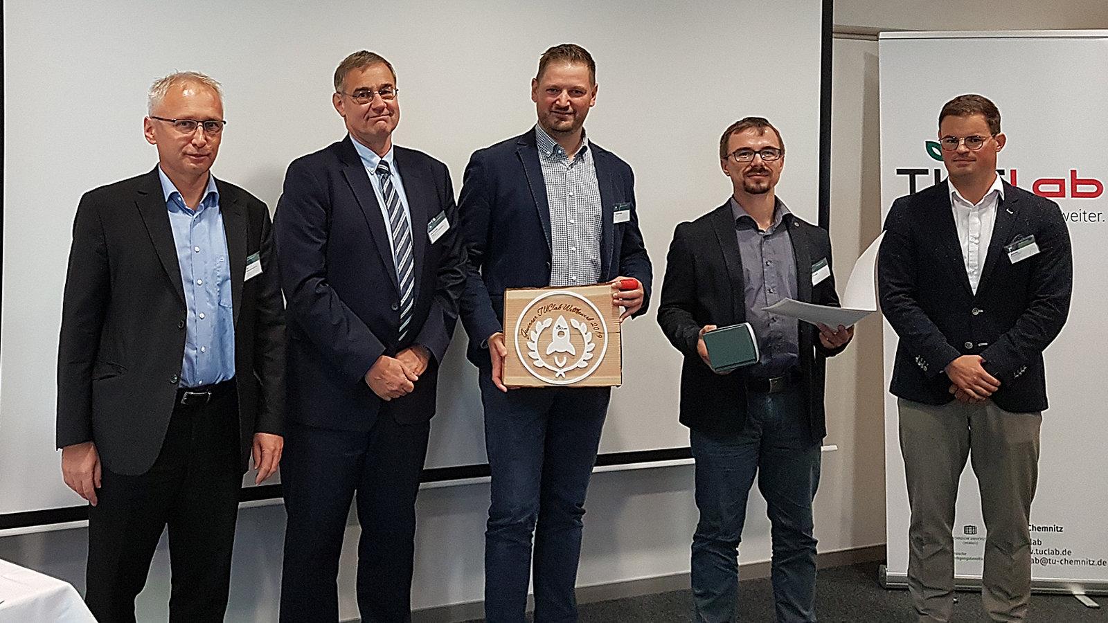 """Drei Sieger im """"TUClab-Wettbewerb 2019"""""""