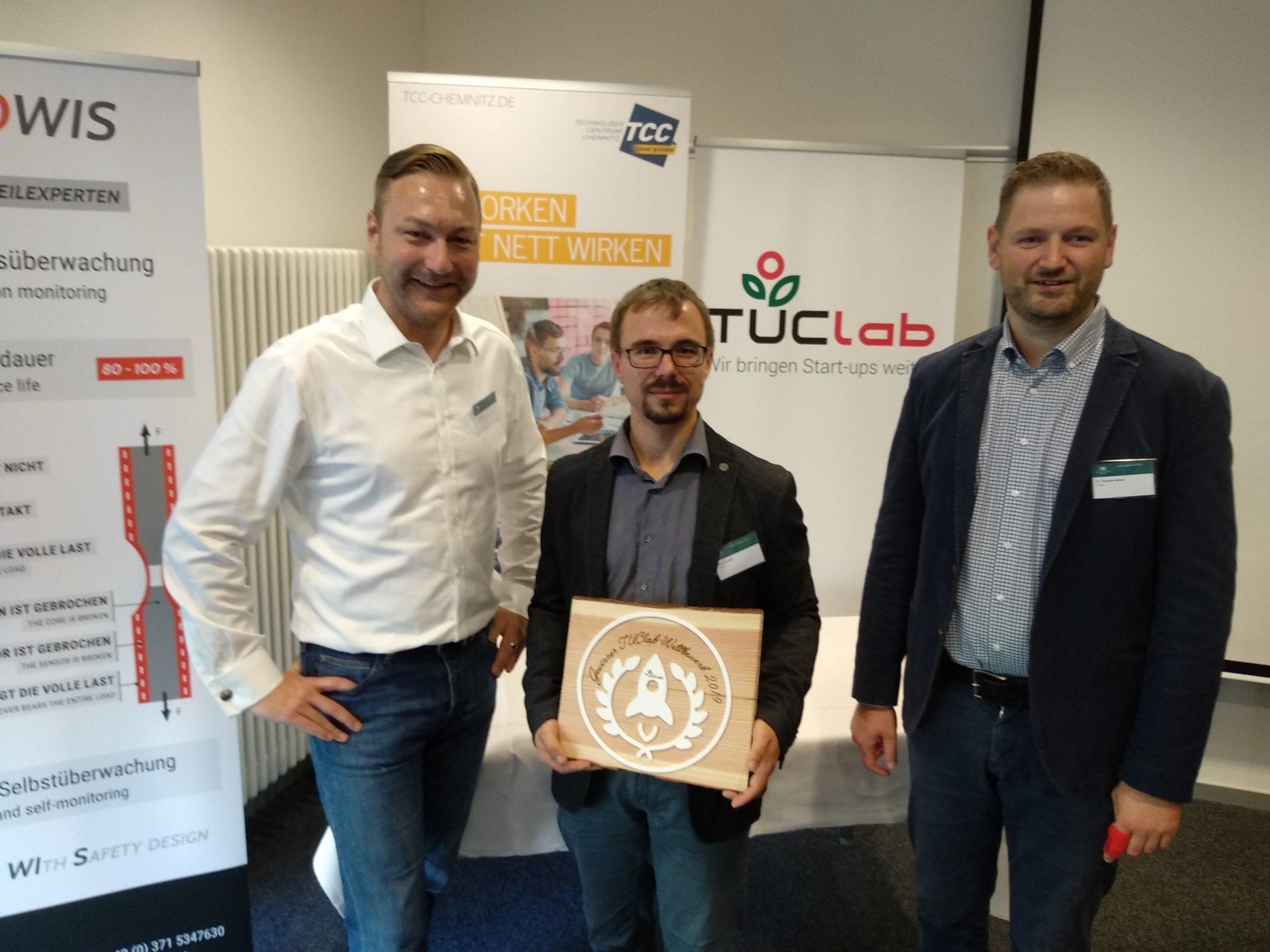 Herzlichen Glückwunsch an das Mittweidaer Startup TROWIS!