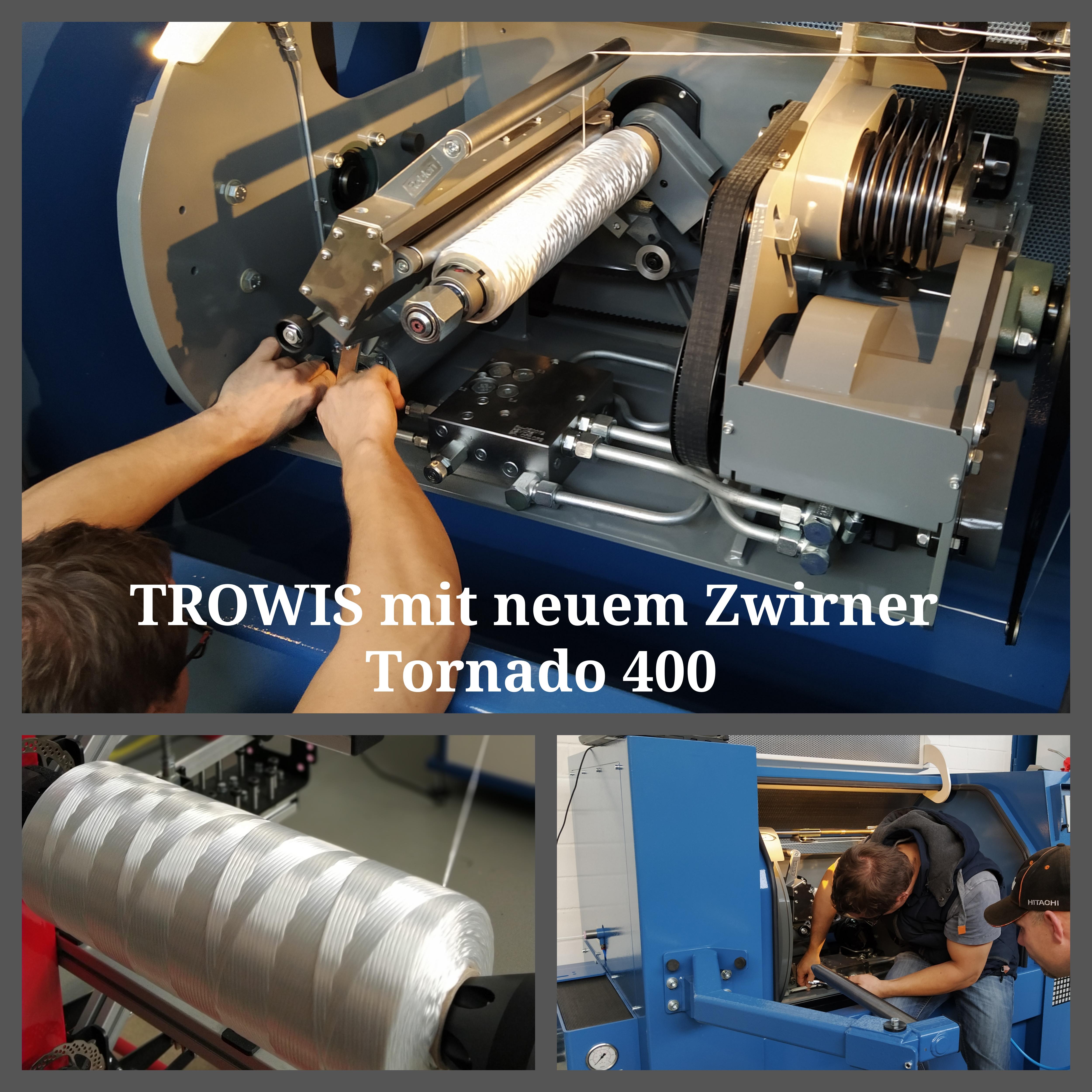 Der ROBLON Tornado 400: Unsere neuste Investition!