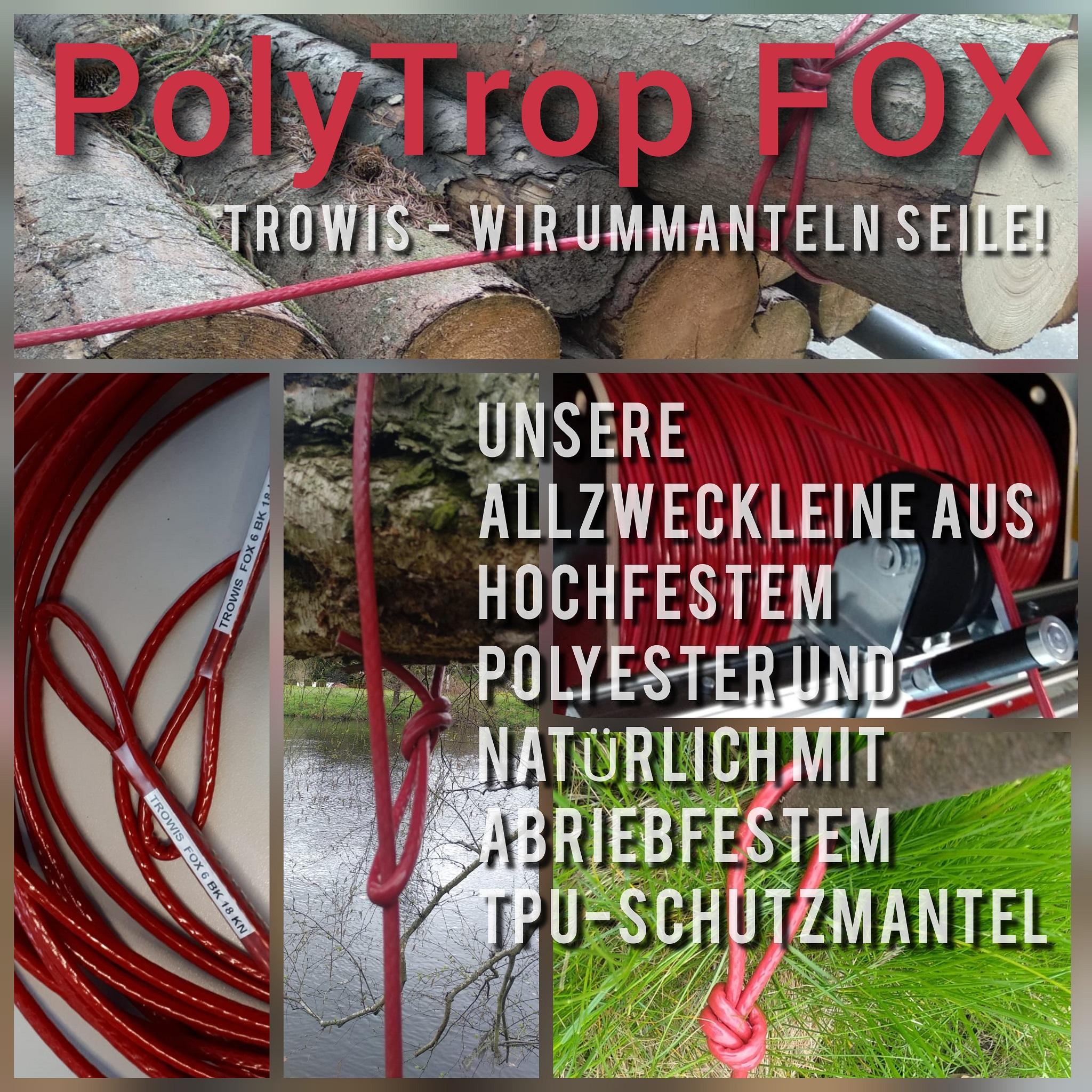 Unser PolyTrop FOX Seil
